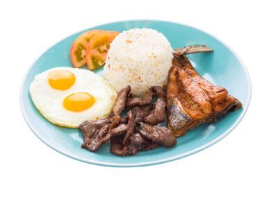 Breakfast-Combination Beef TapaBangus