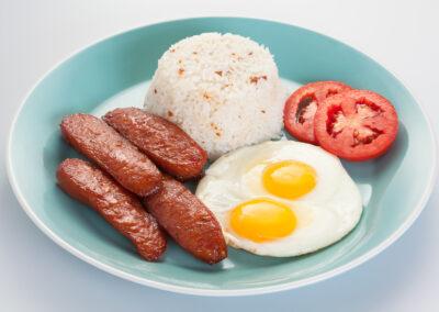 Breakfast single Longanisa